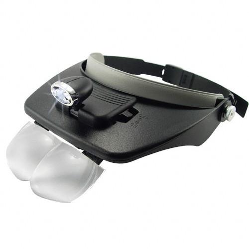 Head Visor Magnifying Glasses