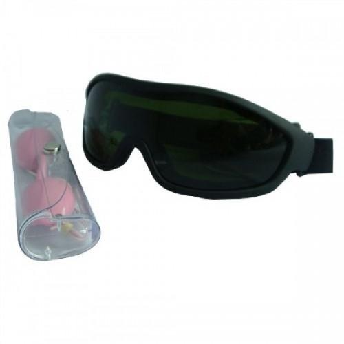 Óculos de segurança e óculos de proteção kit para IPL laser máquina 5fe1967788