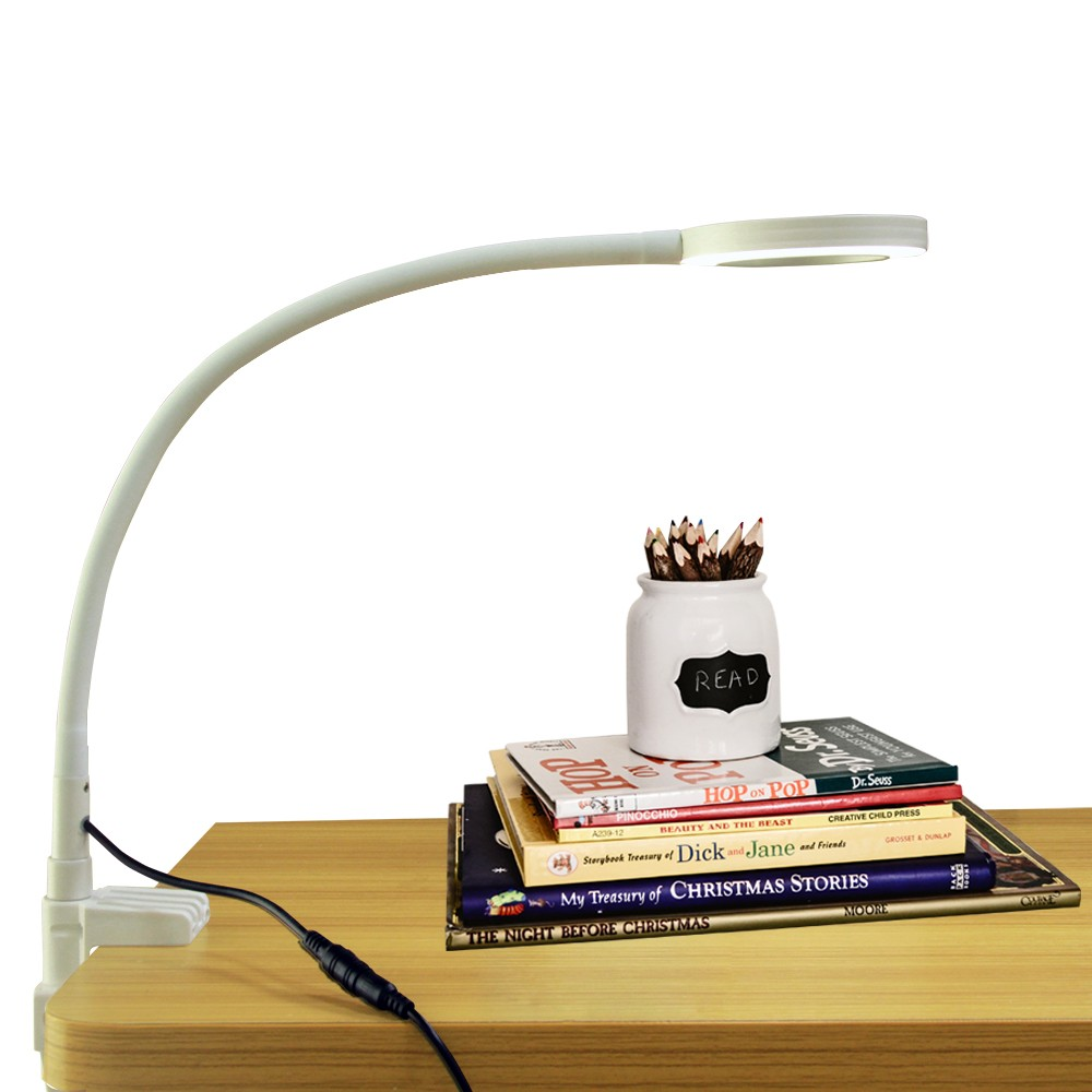 Table And Desk Magnifier With 3x Magnification Lens Adjustable